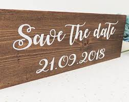 Save The Date Signs Save The Date Signs Etsy