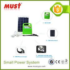 Solar Lighting Indoor by 18v 10w Solar Lighting System For Indoor Or Outdoor Lighting From
