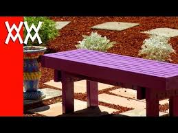 Simple Park Bench Plans Free by Build This Budget Friendly Outdoor Bench Using 2x4s Fun U0026 Easy