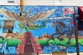 an eater s guide to sunset park brooklyn eater ny tacos el bronco mural