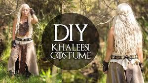 khaleesi costume daenerys from of thrones diy khaleesi costume