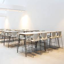 high table with four chairs four real poseur table foldable high table apres furniture
