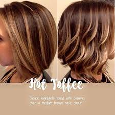 hair color of the year 2015 hot toffee blonde and caramel highlights over brown base hair