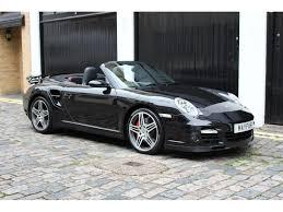 porsche 911 convertible black used porsche 911 convertible 3 6 997 turbo cabriolet awd 2dr in