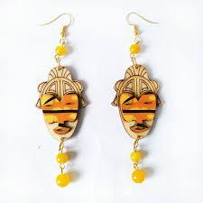 eco earrings 3d carving wood earrings handmade earrings laser cut eco