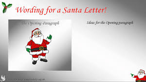 how to write a santa letter youtube