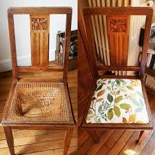 une chaise recouvrir une chaise en paille impressionnant tuto restauration de
