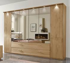 Schlafzimmerschrank Zerlegen Kleiderschrank Mit Schubladen Spiegel Und Falttüren Narita