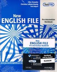oxford new english file pre intermediate workbook with key