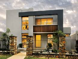 How Tall Is A 2 Story House by Residential 2 Storey House Plan Modern 2 Story House Plans Lrg