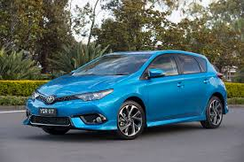 automobile toyota photos toyota 2015 17 corolla hatchback light blue metallic