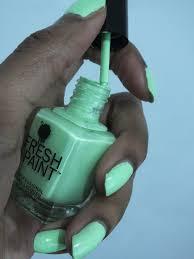 mani monday 8 fresh paint nail polish honeydew u2014 natural hair