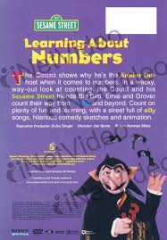 learning about numbers sesame street on dvd movie