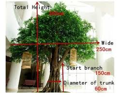factory sales high quality big artificial ficus tree sale with