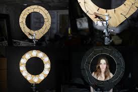 circle light for video best diy ring light photography video selfie creative lednews