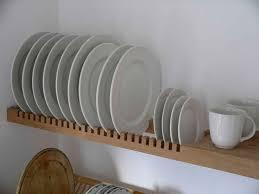 Best Plate Racks Ideas On Pinterest Farmhouse Dish Racks - Kitchen cabinet plate organizers