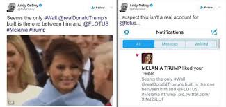 Tweet Meme - melania trump donald trump s wife likes tweet mocking her marriage