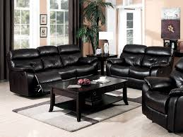 Black Leather Reclining Sofa And Loveseat Black Leather Sofa Loveseat Unclaimed Freight Co Lancaster Pa