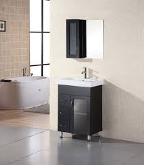 Bathroom Vanity 24 Inch by 24 Inch Modern Single Sink Bathroom Vanity With Ceramic Sink Uvde02224