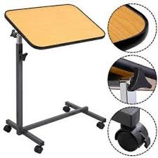 Rolling Table Desk Rolling Tv Tray Table Foter