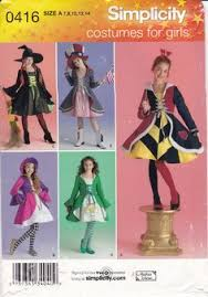 86 Children Halloween Costumes Sewing Patterns Images Simplicity 2851steampunk Costume Burlesque Wild West