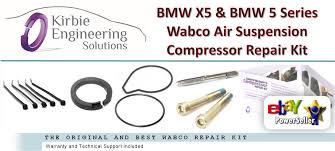 bmw x5 e53 5 series e39 wabco air suspension compressor pump