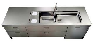 Industrial Kitchen Sink Freestanding Kitchen Sinks In Industrial Grey