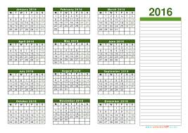 Excel Monthly Planner Template Calendar 2016 Uk Free Yearly Calendar Templates For Uk
