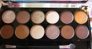 mua makeup school mua professional heaven and earth eyeshadow palette