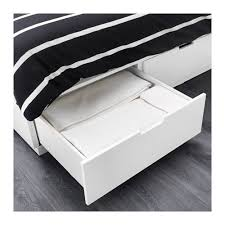 How To Put A Bed Frame Together Nordli Bed Frame With Storage Queen Ikea