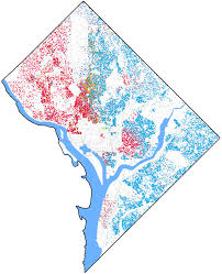 Maps Of Washington Dc by File Race And Ethnicity Map Of Washington D C Png Wikimedia