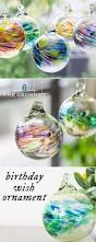 birthday wish ornament by kitras art glass