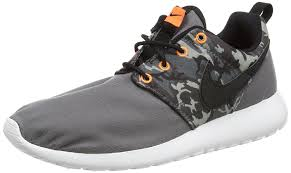 rosh run nike kids rosherun one print gs running shoe sneakers