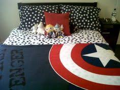 Captain America Bedroom by Captain America Alliance Queen Size Duvet Cover Cotton Bedding For