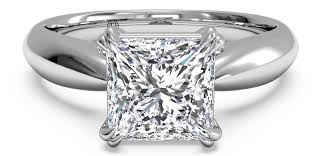 square diamonds rings images 5 square engagement rings to adore ritani jpg