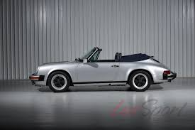 porsche 911 convertible white 1988 porsche 911 carrera convertible carrera stock 1988168 for