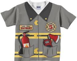 fireman shirt etsy