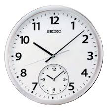 cool wall clock cool seiko wall clock for ho thejumpinjukes