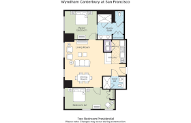 Canterbury Floor Plan by Club Wyndham Wyndham Canterbury At San Francisco