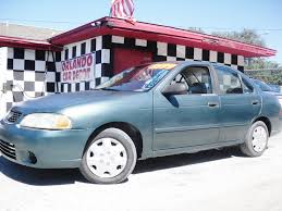 sentra nissan 2001 1313 2001 nissan sentra orlando car depot used cars for sale