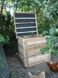 diy pallet wood compost bin elegant u0026 cheap brico ecolo