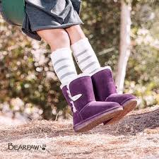 womens paw boots size 12 bearpaw suede leather boots for zulily