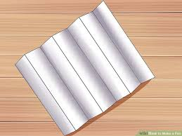 how to make a fan 4 ways to make a fan wikihow