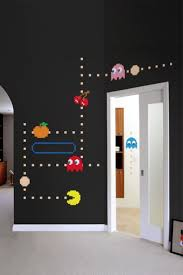 156 best console game room images on pinterest gamer room video that s why we love these brand new blik pac man wall decals they come in 3 varieties pac man ghost picture above