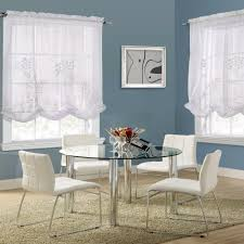 White Balloon Curtains Hydrangea Rod Pocket Balloon Shade Commonwealth Home Fashions