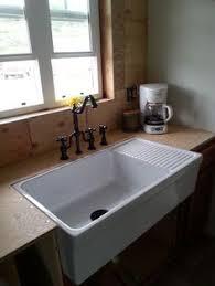 Whitehaus Collection Quatro Alcove Reversible Series Farmhaus - Mobile kitchen sink