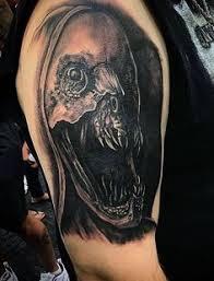 realistic skull u0026 wings jiu jitsu pinterest tattoo tatting
