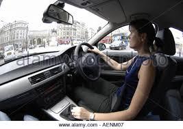 Bmw 3 Interior Interior Bmw 3 Series Car Woman Driver Women Drivers London Uk
