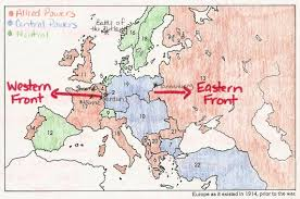 Wwi Europe Map by Mrs Davis World History Guild Page 7