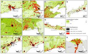 Umd Campus Map Urban Expansion To Claim Nearly 300 000 Km2 Of Fertile Cropland